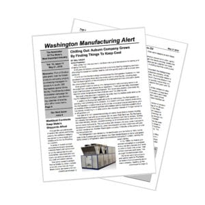 Chilling Out: Pro Refrigeration featured in Washington Manufacturing Alert